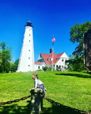"Calie Herbst, author of ""Exploring Milwaukee with kids,"" says places like North Point Lighthouse are surprisingly just as fun for kids as they are informative for their parents."