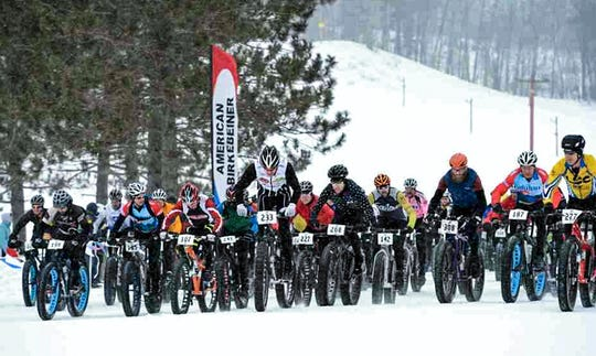 The Fat Bike Birkie allows people to ride across snow-covered American Birkebeiner Ski Trail.
