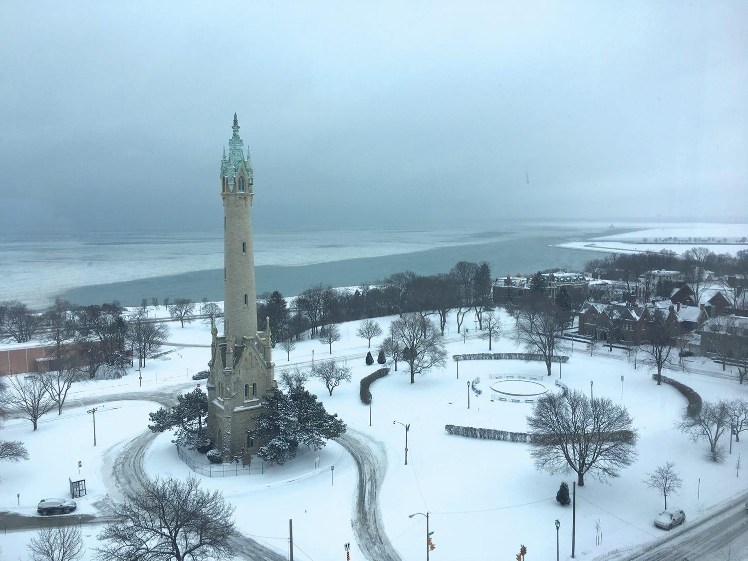 Lakefront Water Tower, Milwaukee.