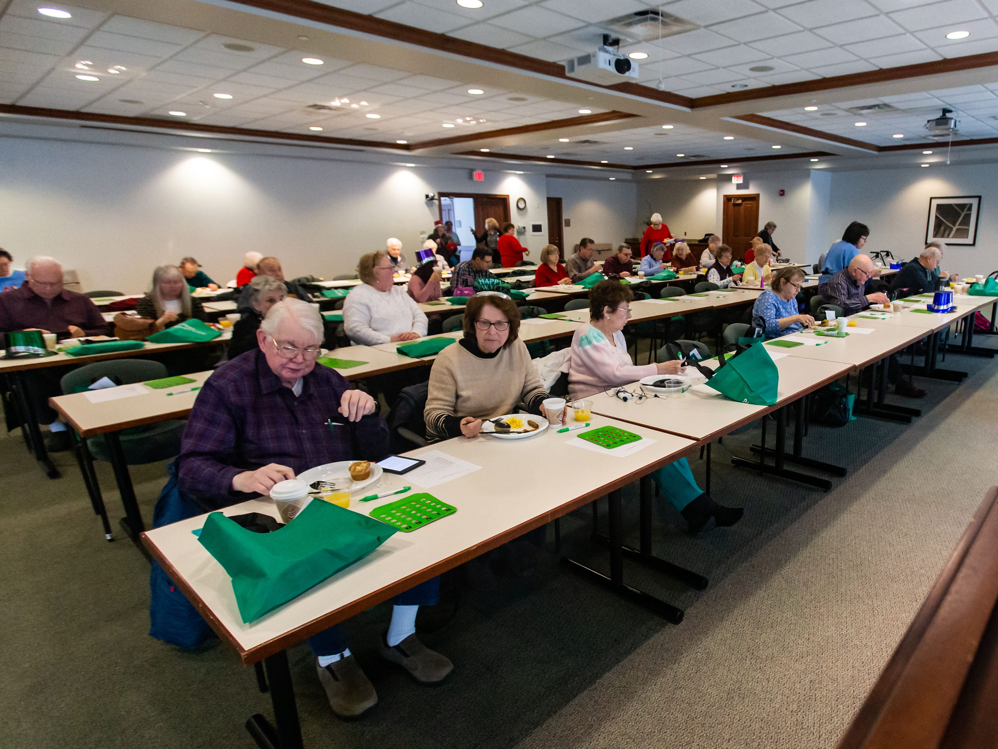 Area seniors enjoy good company and a delicious meal during the free monthly senior breakfast club at Aurora Health Care in Summit on Tuesday, Jan. 1, 2019. Senior Breakfast Club is held from 8 to 10 a.m. on the first Tuesday of each month and is open to seniors and their families. For more info please call Trish Golden at 262-434-1248.