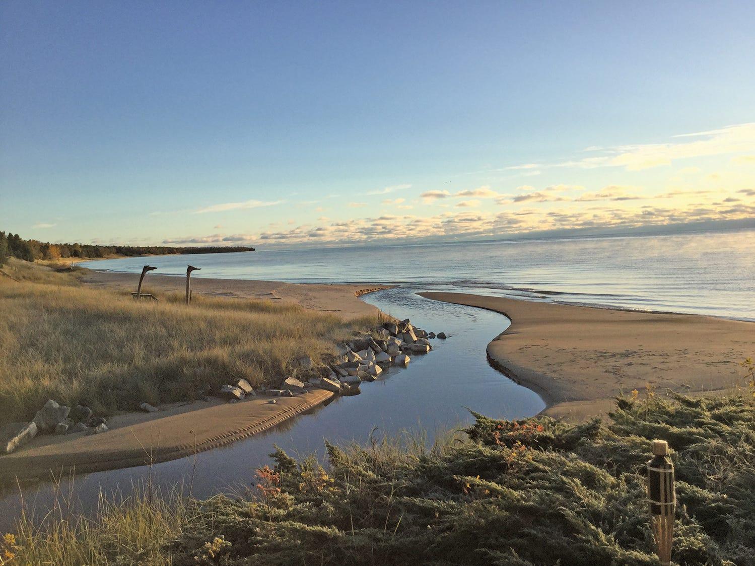 Whitefish Bay, Door County.