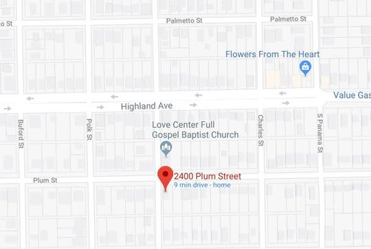 A man was stabbed on New Year's Day in the 2400 block of Plum Street.