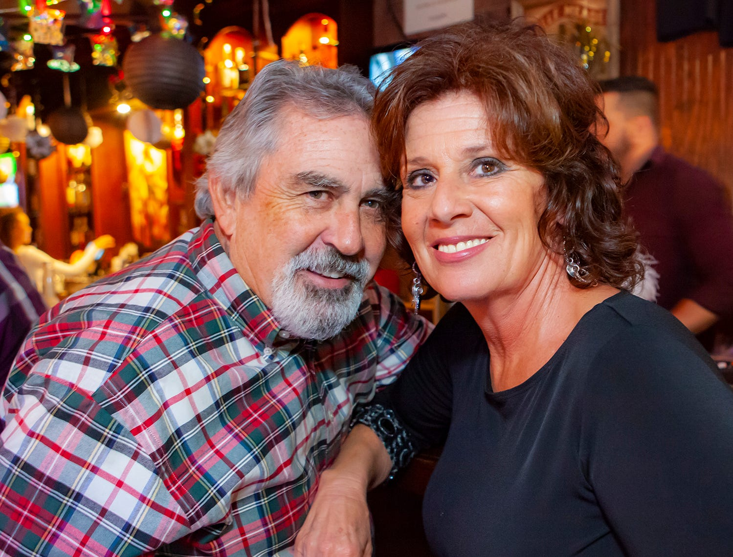 Danny Davis and Joann Holt at the Hank's Honky Tonk New Year's Eve Party in Murfreesboro.
