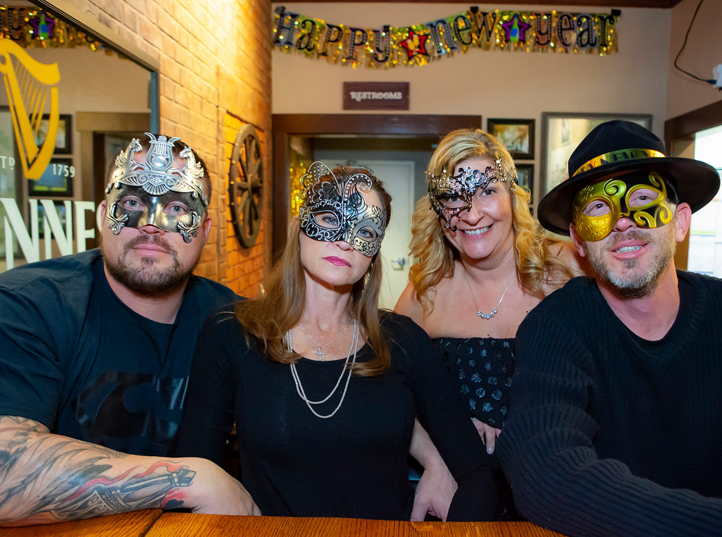 Hank's Honky Tonk  in Murfreesboro hosted a New Year's Eve Party.