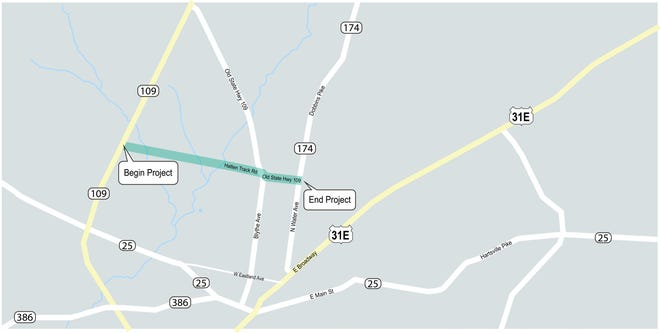 The City of Gallatin will soon launch a project to develop a connector roadway between State Route 109 and State Route 174 (Dobbins Pike).