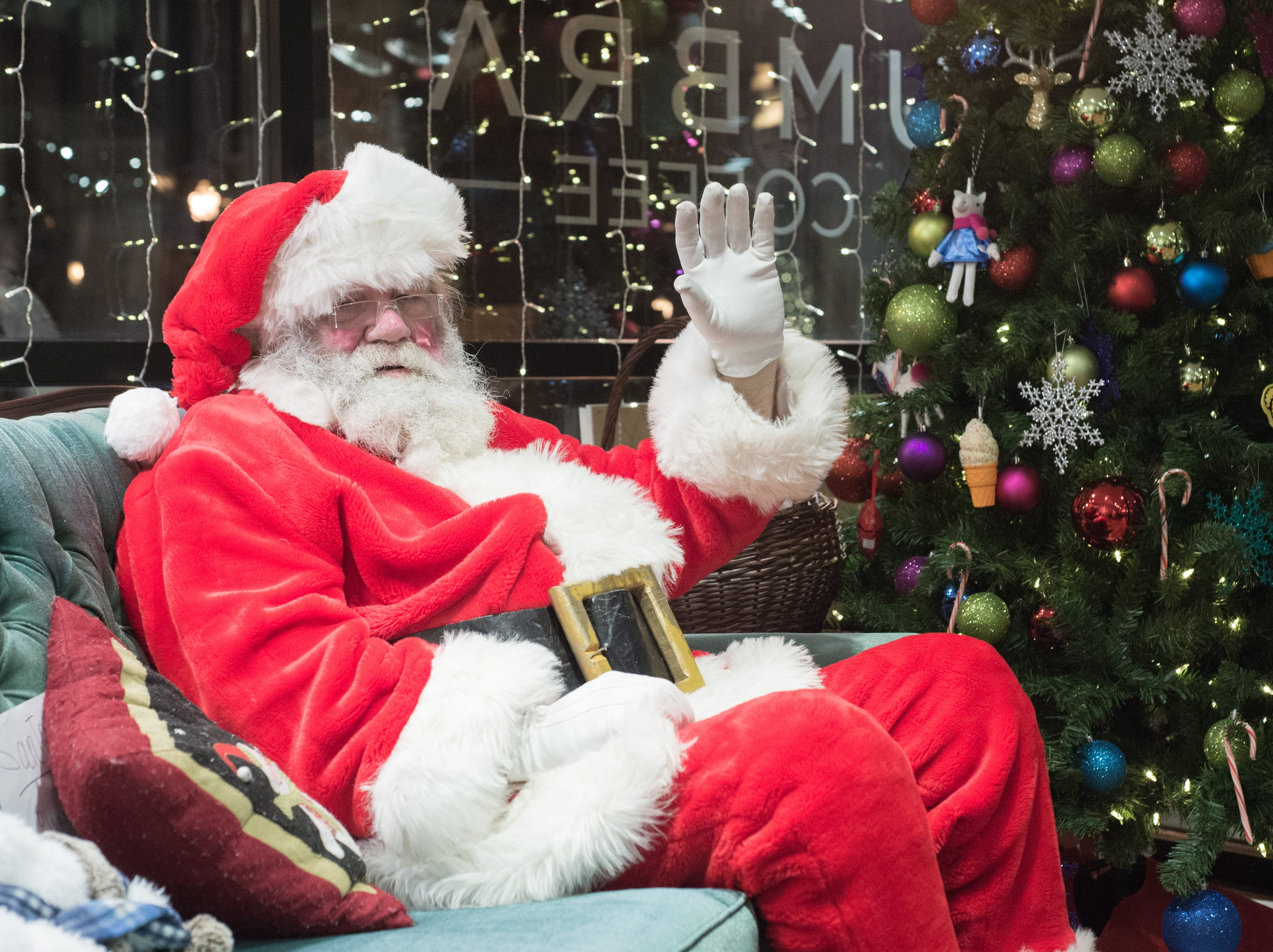 """The Santa on the Square event was presented by Historic Downtown Gallatin at 106 Public Square on Saturday, Dec. 22. """"I want to wish everyone in the world a very Merry Christmas, and a happy and prosperous New Year,"""" Mr. Claus said."""