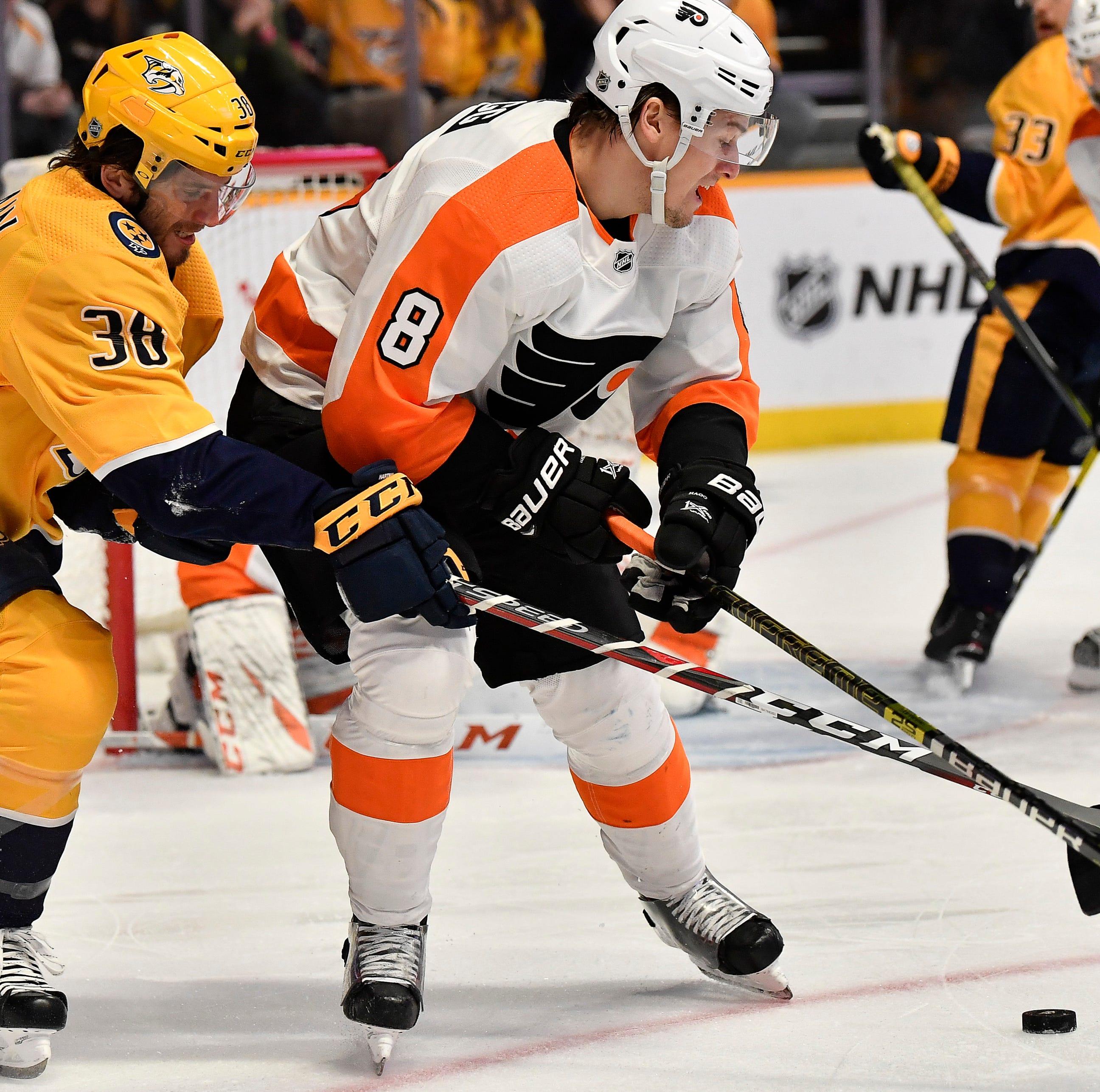 Tuesday's recap: Predators 4, Flyers 0