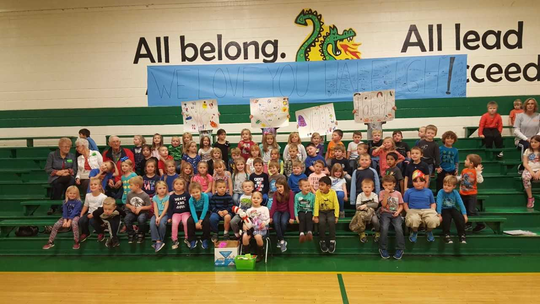 "Before she left for St. Jude, East Cheatham Elementary School had ""Haleigh's Day"" to support kindergartener Haleigh Peden, whose cancer returned in October."