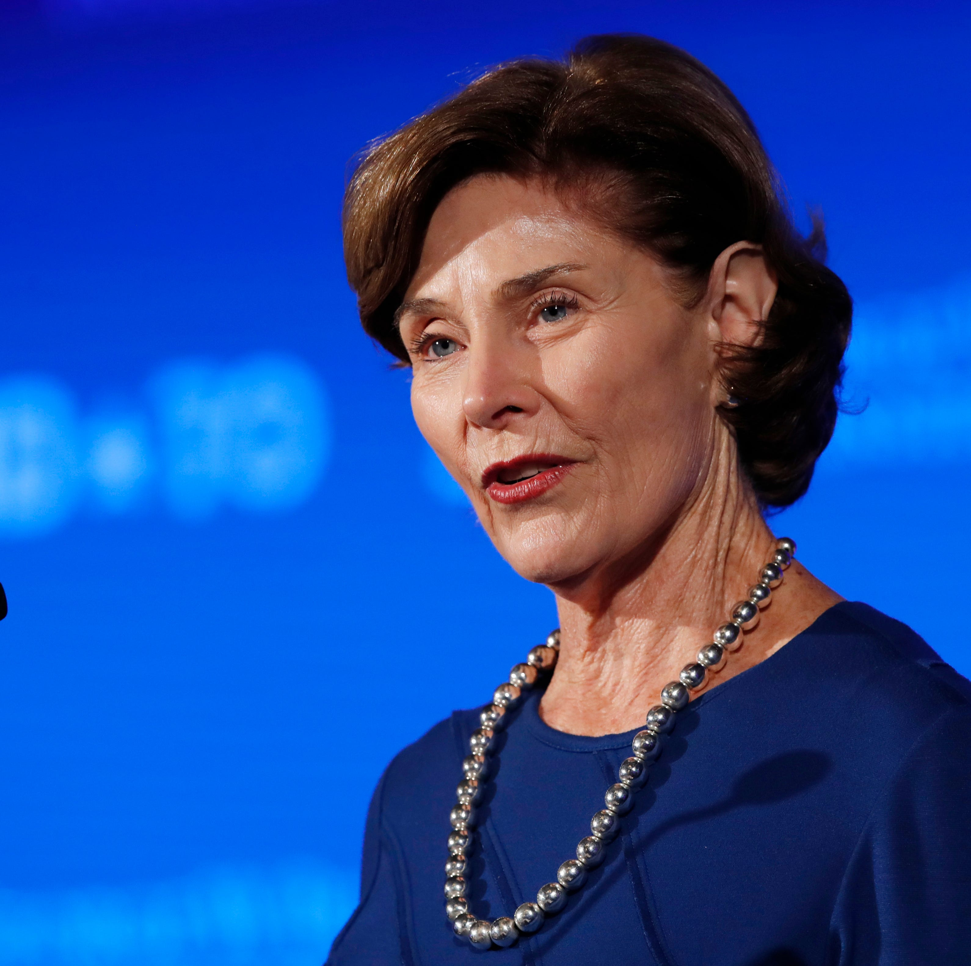 Former first lady Laura Bush reflects on time in White House at conference in Naples