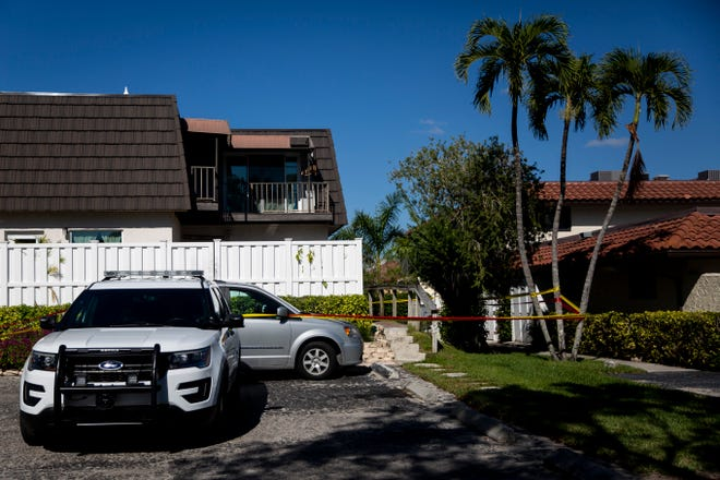 Crime scene tape surrounds the scene of a homicide investigation on Wednesday, Jan. 2, 2019, in the 1300 block of Chesapeake Avenue in Naples. Police officers found Frances K. Axley, 78, dead inside her home after being asked to check on her.