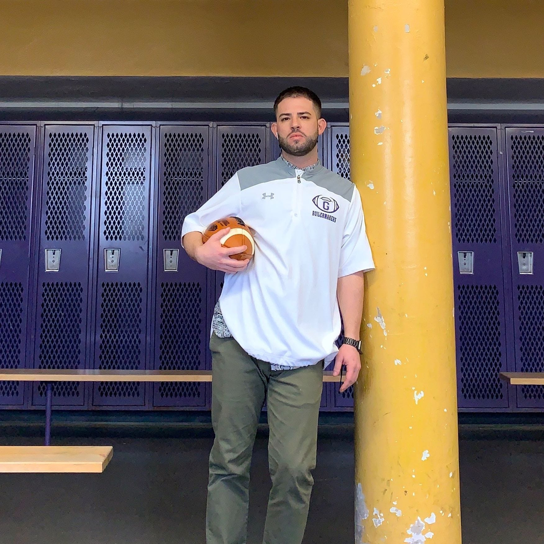 Pete Santacroce tabbed as new Garfield football coach