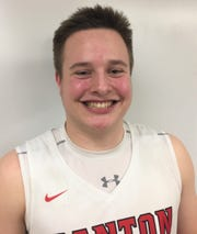 Canton junior center Jake Vickers scored 10 points in the Chiefs' 50-45 win over host North Farmington.