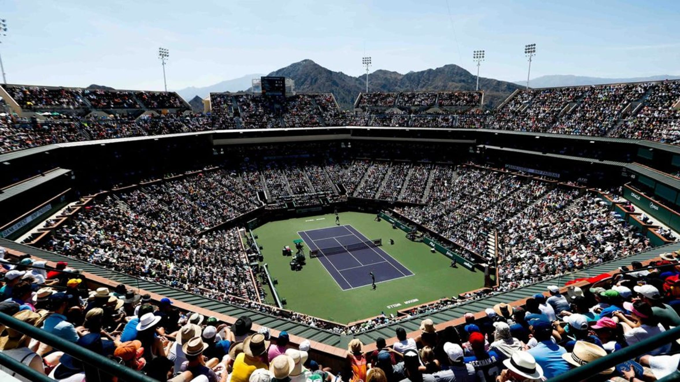 Indian Wells Tennis Garden.