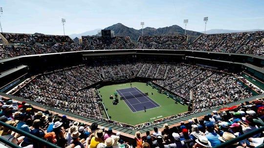 Indian Wells Tennis Garden.