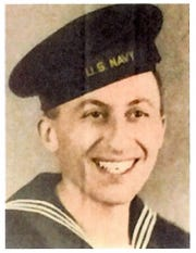 Navy radioman Marvin Cohn survived a kamikaze attack on the destroyer on which he was serving, the USS Purdy, during World War II.