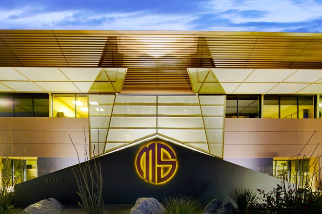 The office of MSA Consulting Inc. in Rancho Mirage.
