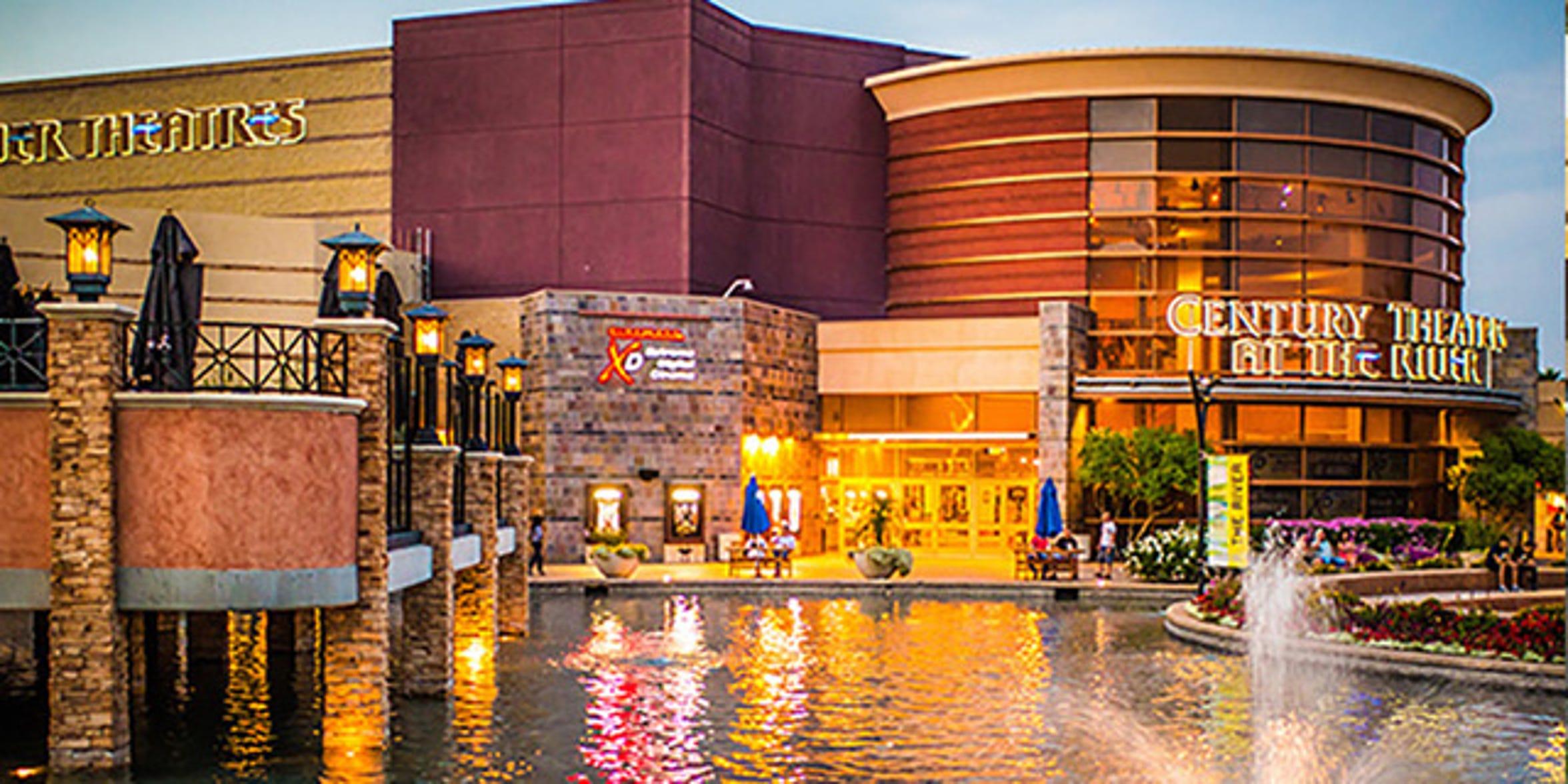 Century @ The River Cinemark Theatre.