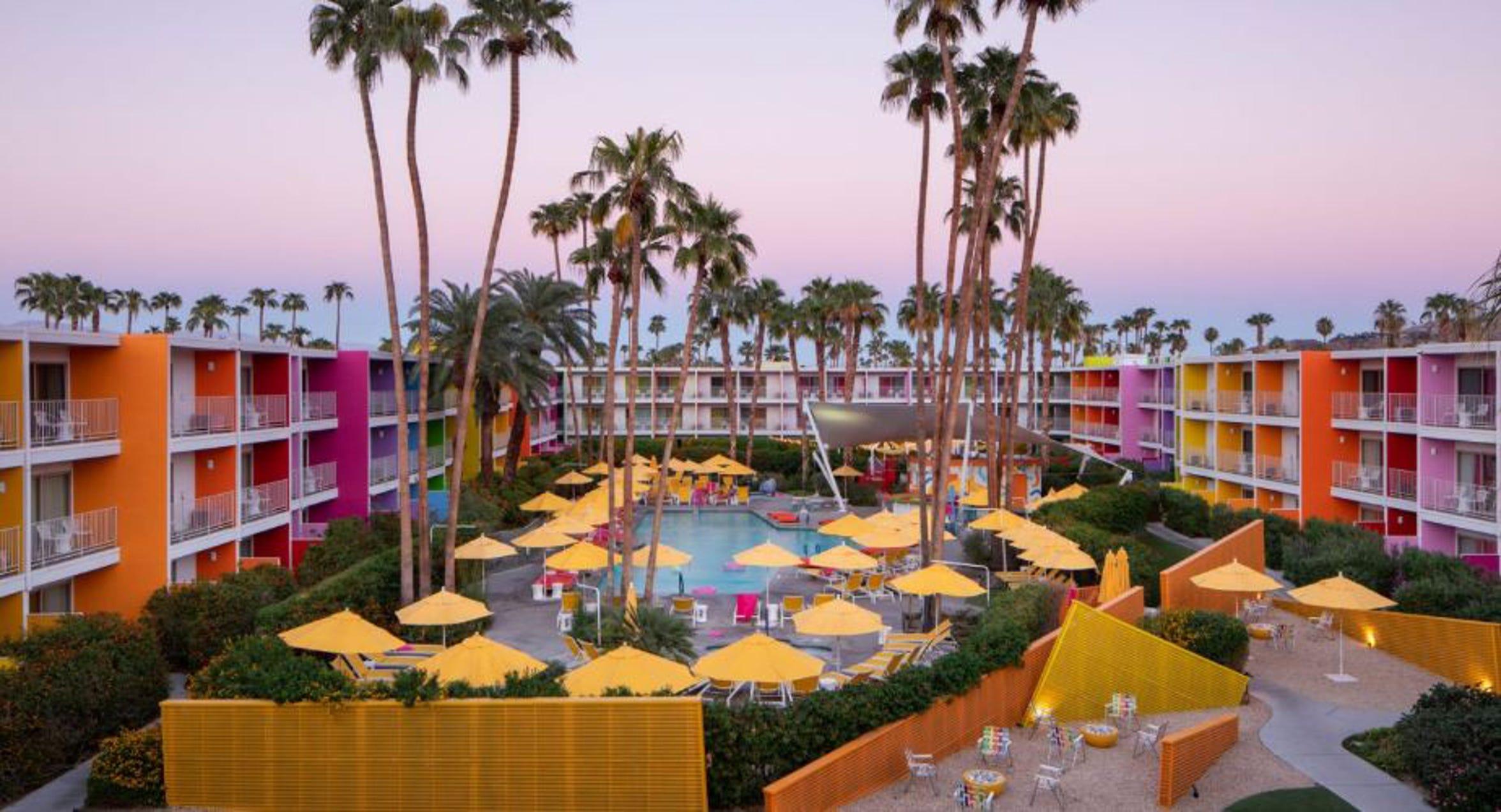 The Saguaro Palm Springs.