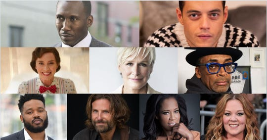 Some of the honorees of the 2019 Palm Springs International Film Festival Awards Gala.