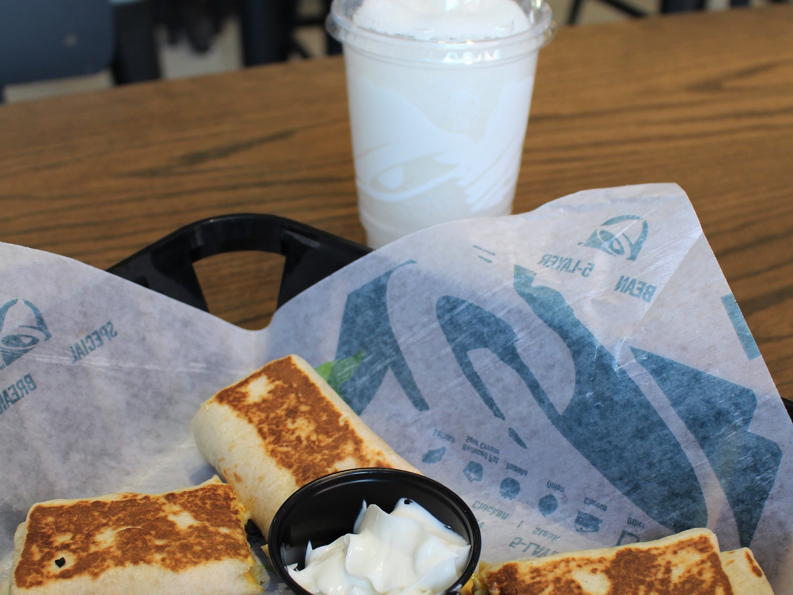 Taco Bell Cantina's menu includes items not available at traditional Taco Bell restaurants such as Cheese Jalapeno Dippers and Mini Quesadilla Nachos.