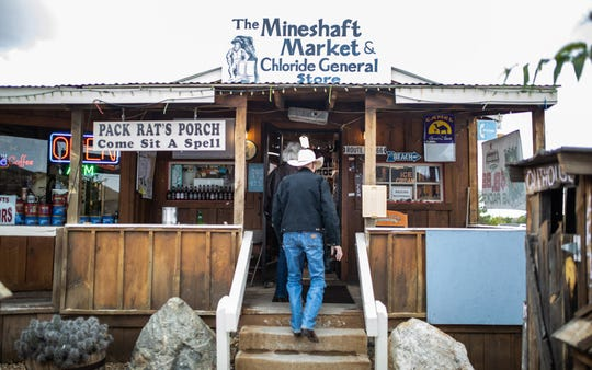 The Mineshaft Market and Chloride General Store in Chloride doesn't just offer groceries, but includes a small tourism office that highlights the town's mining history.