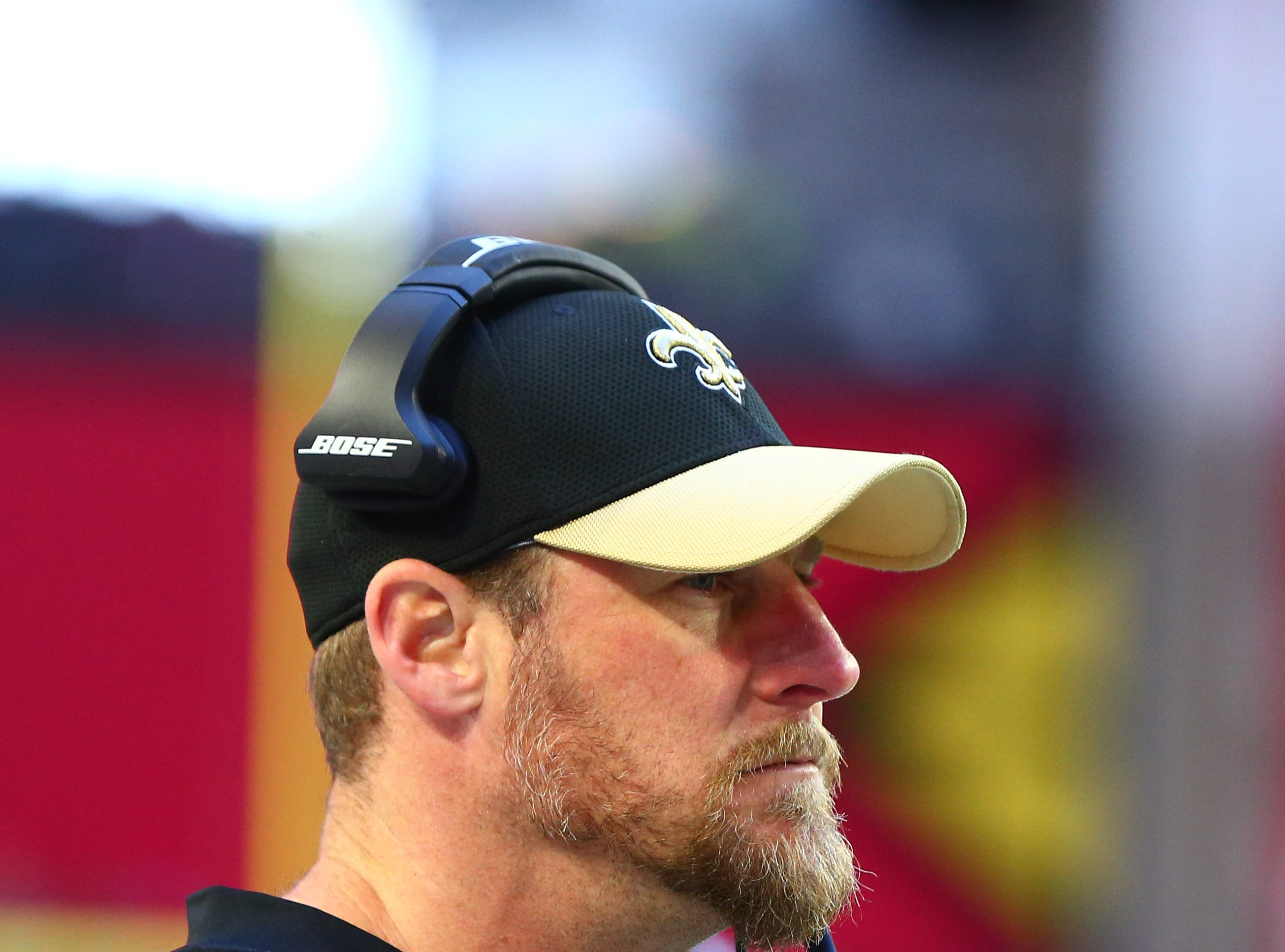 New Orleans Saints associate head coach Dan Campbell.