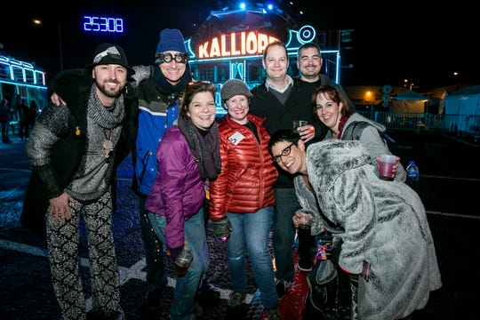 Everyone had a blast during Crescent Ballroom's 2019 New Year's Eve Block Party on Monday, December 31, 2018.