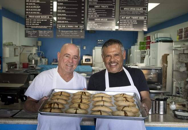 Mike (left) and Eddie Caliendo on December 13, 2018, at AZ Food Crafters, 961 West Ray Road, Chandler.