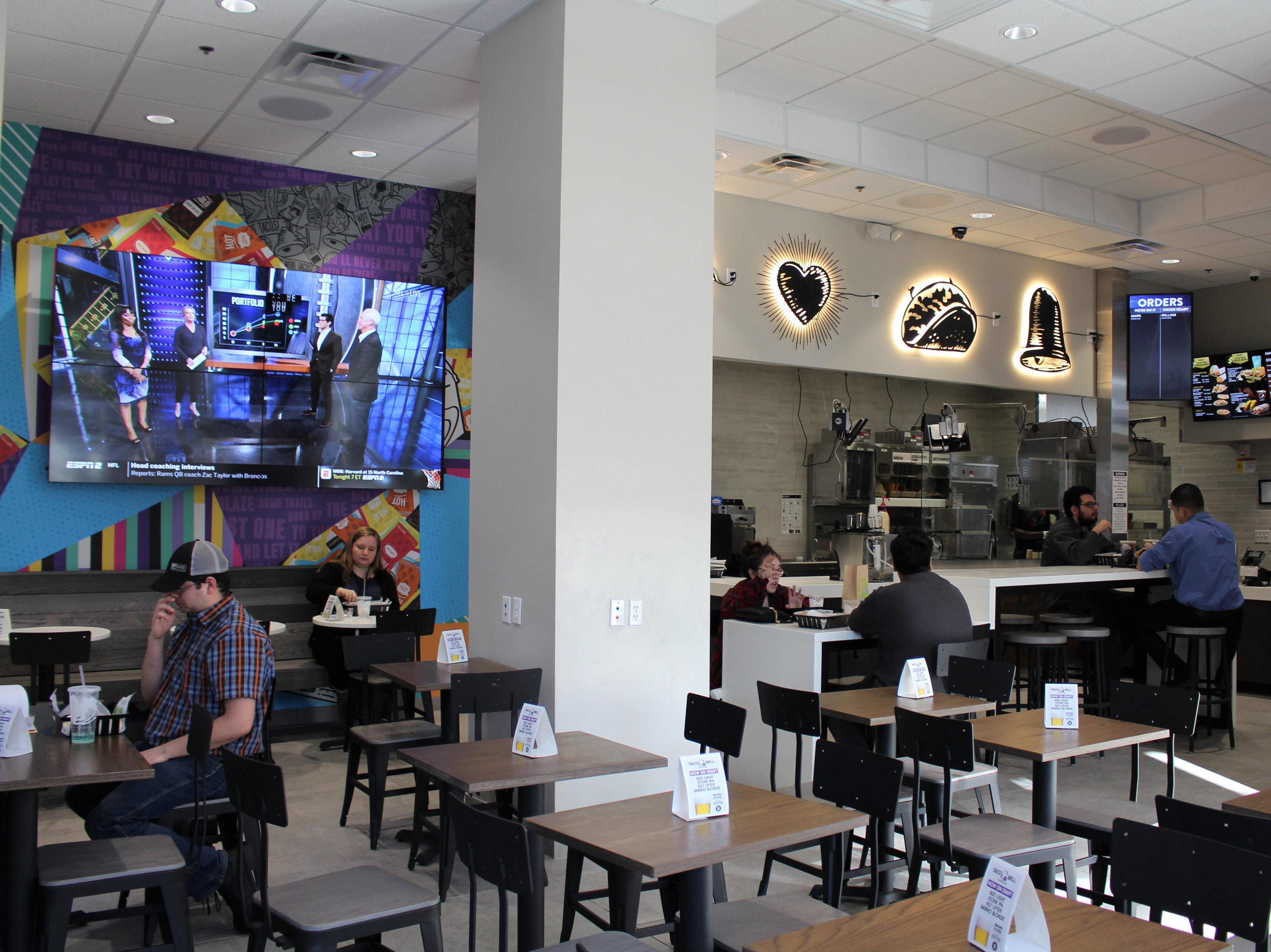 The first Taco Bell Cantina in Arizona has opened inside the Collier Center in downtown Phoenix.