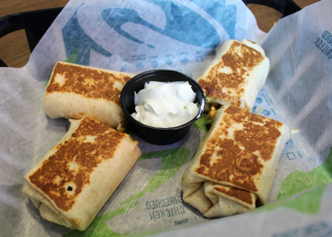 Taco Bell Cantina's menu includes sharable items such as Cheese Jalapeno Dippers ($3.29).