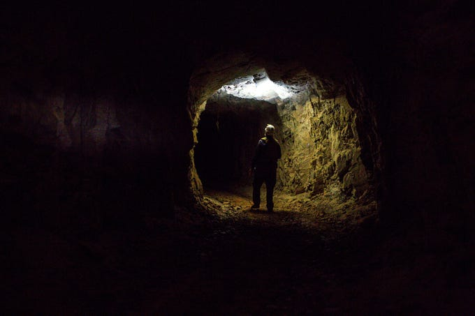 Joel Diamond, a bat biologist for Arizona Game & Fish, and his team often work as temporary abandoned-mine hunters on federal land. They also install gates to allow bats to fly out while keeping people out.