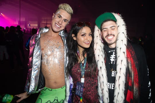Cold temps and rain couldn't keep EDM fans from packing Rawhide for Decadence on New Year's Eve on Monday. Dec. 31, 2018 in Chandler.
