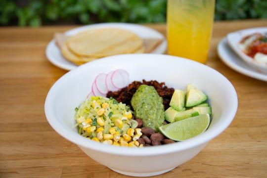 The vegan chorizo bowl at True Food Kitchen.