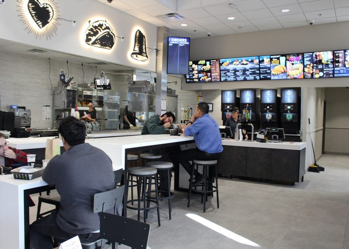 Taco Bell Cantina, the first Taco Bell restaurant in Phoenix to serve alcohol, is now open in downtown Phoenix.