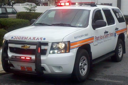 First Aid and Safety Patrol ambulance