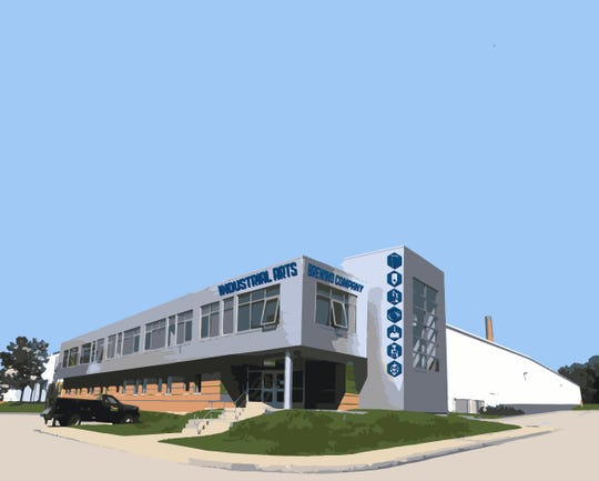 A rendering of Industrial Arts Brewing Company's second location in the City of Beacon.