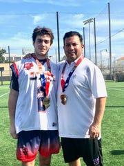 Dominic Corto (left) and Frank Corto (right).