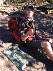 "In 2014, Jacob Gilliland hiked the Appalachian Trail, a 2,200 mile long journey that stretches from Mount Katahdin, Maine to Springer Mountain, Georgia. It was the first of the ""Triple Crown"" of hiking trails that Gilliland completed."