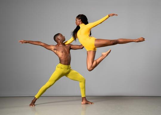Ailey II's Corrin Rachelle Mitchell and Marcel Wilson Jr.