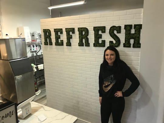 Blair Beasley at Refresh on Park Avenue.
