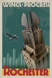 """Ron Brancato's """"Times Square Building."""""""