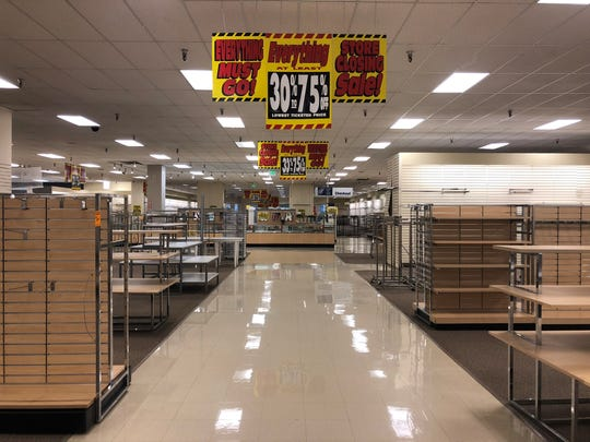 Sears in Salem is closing after a final day of sales on Jan. 6, 2019.