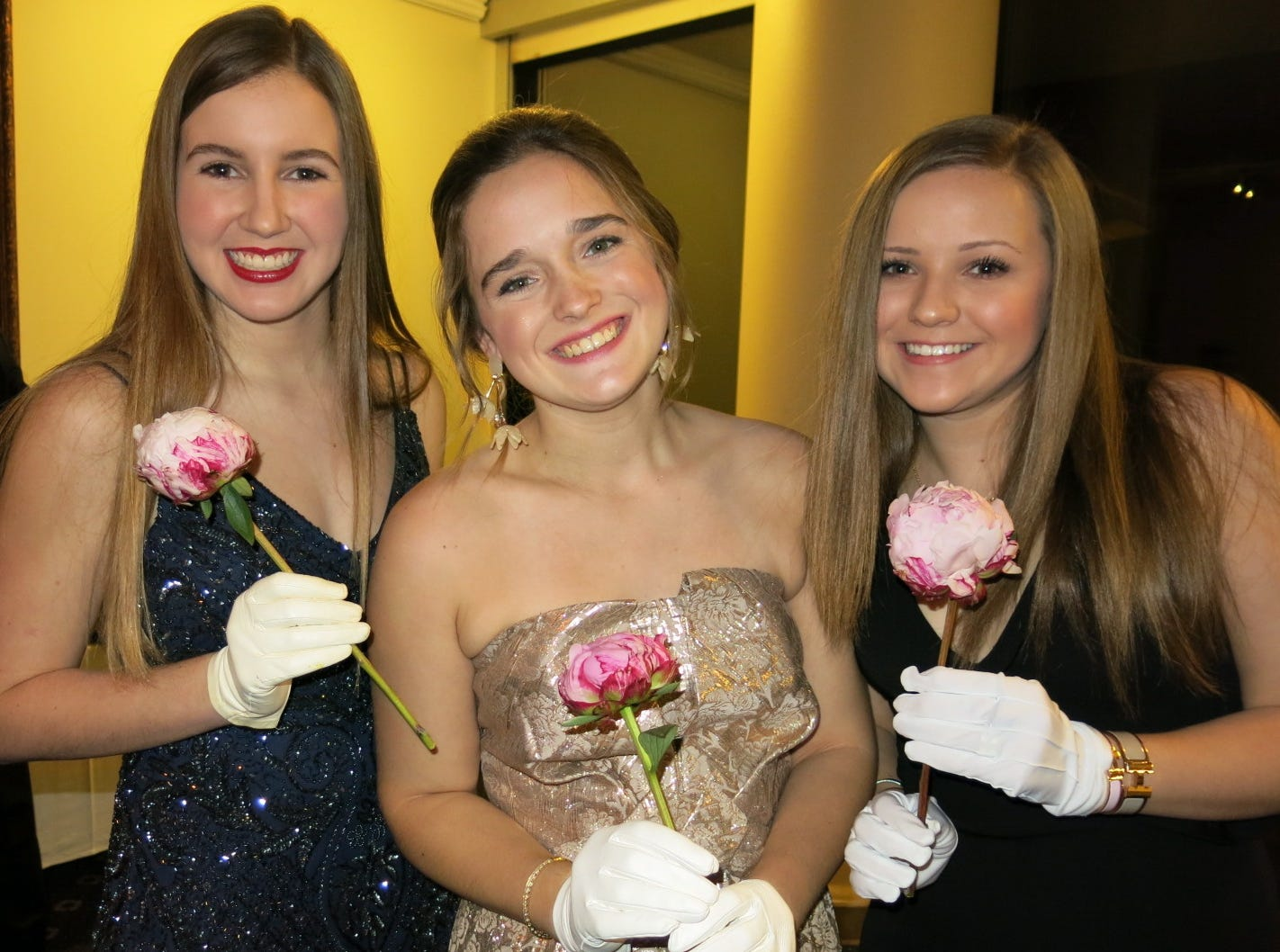 Ten Demoiselle Debutantes bowed to society at 70th anniversary ball at East Ridge Country Club.