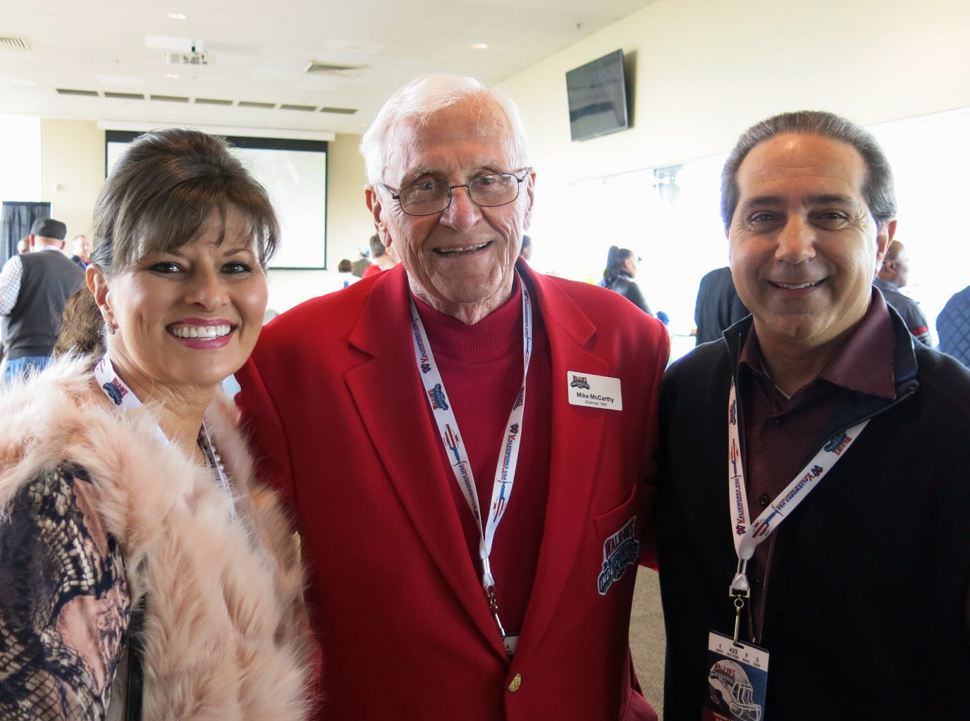 VIPs gathered at the Club Level of Independence Stadium for the Walk-On's Independence Bowl on Dec. 27, 2018.