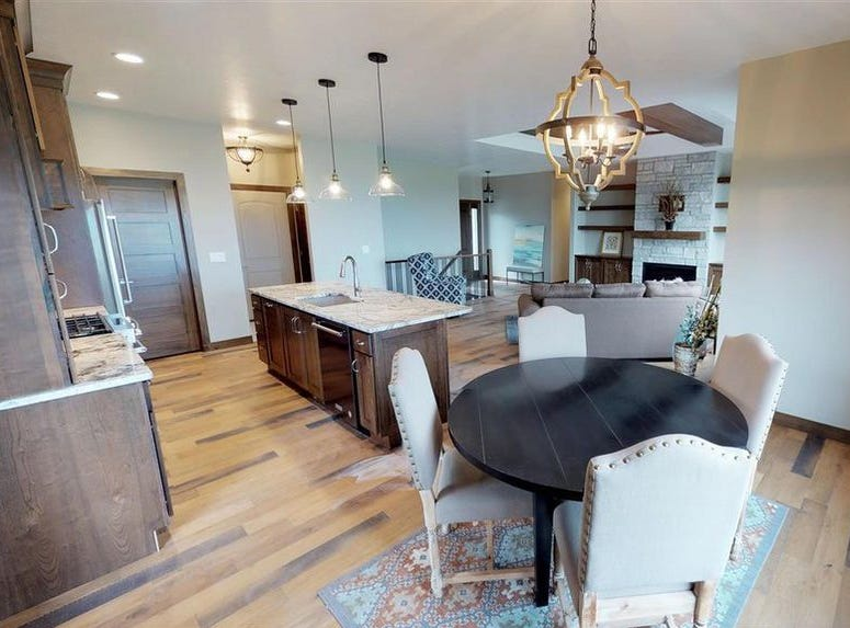 This three-bed, two-bath home at 7221 E. Sierra Trail in the Copper Creek addition in east Sioux Falls sold for $451,500 topping our home sales list for the week ending Nov. 9.