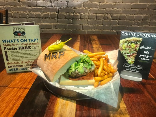 MacKenzie River Pizza, Grill & Pub's Handcrafted Tuscan Burger