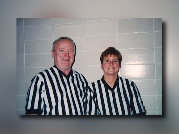 Kapitan's daughter, Mary, was also a sports referee in South Dakota.