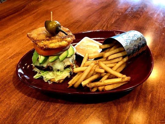 CRAVE American Kitchen & Sushi Bar's Old San Juan Burger