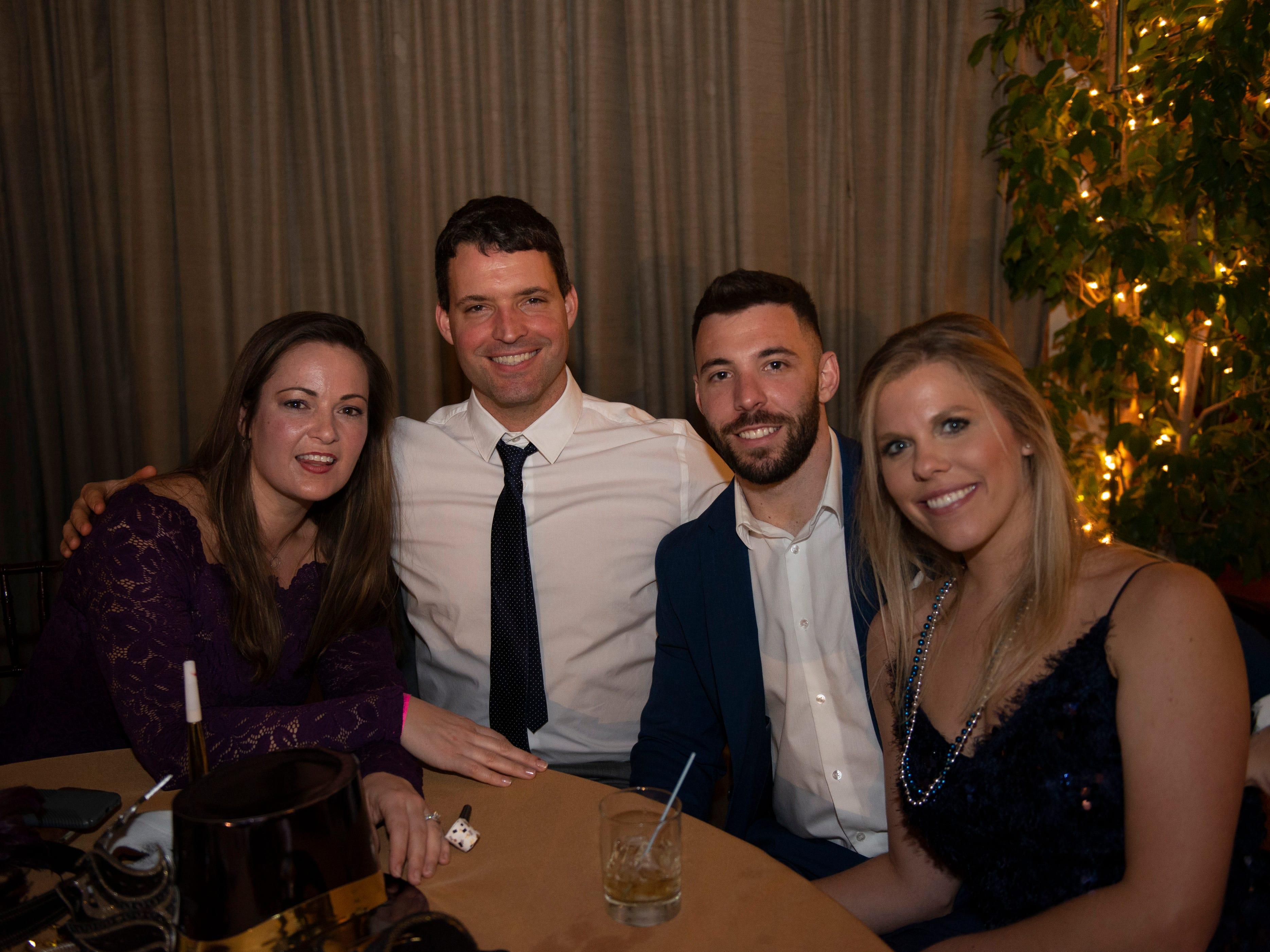 Jessica & Abe Sadowski, Kim & Dustin Burnham