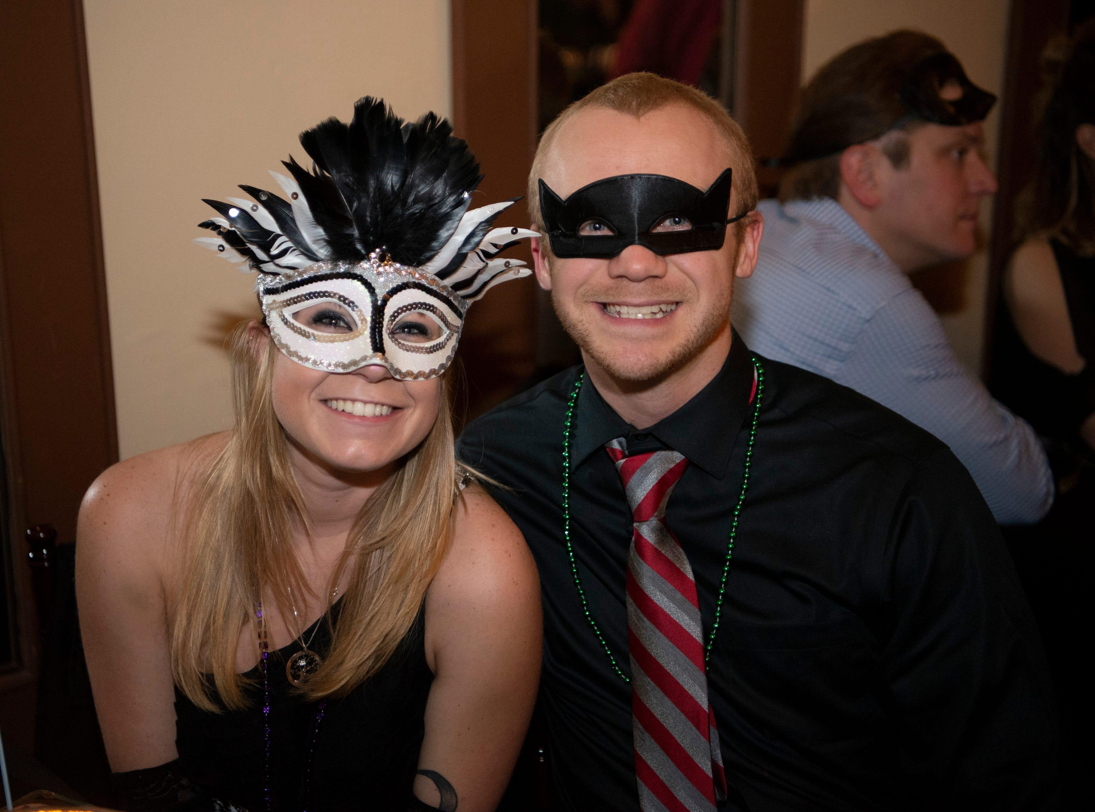 Faces in the Crowd: Savoy Masquerade Ball